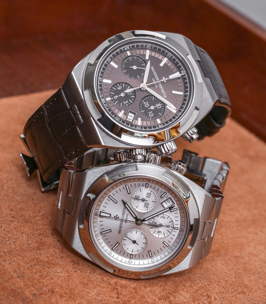 8390aeff3fc Vacheron Constantin Overseas Chronograph 5500V Watch Review Wrist Time  Reviews. The vacheron constantin watches website Replica ...