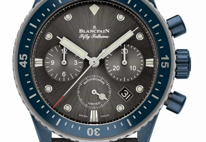 Blancpain Fifty Fathoms Bathyscaphe BOC II
