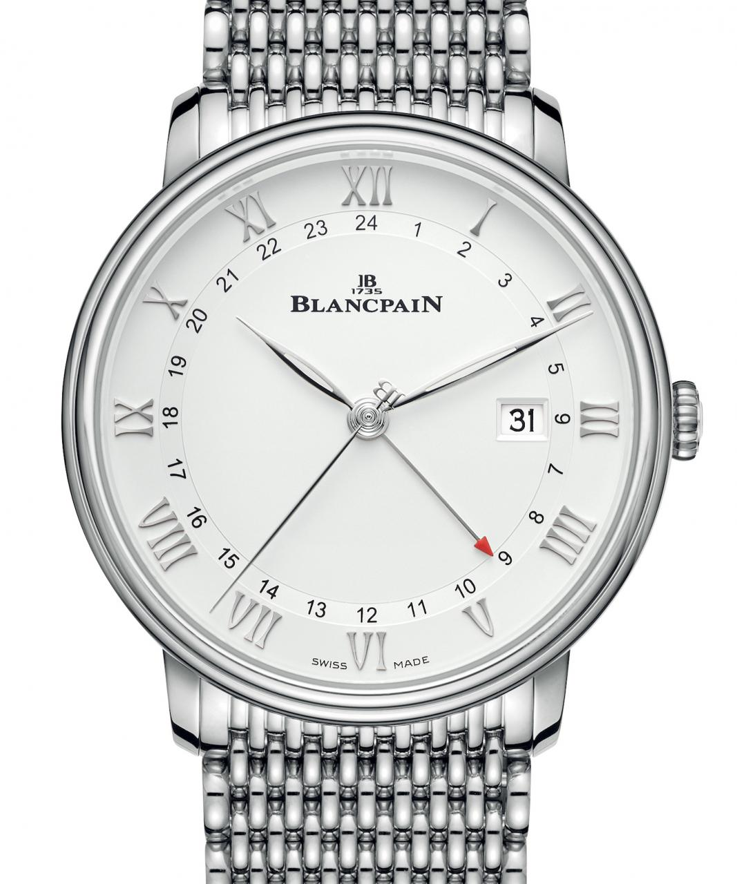 Blancpain Villeret GMT Date replica watches Offers Multiple Functions In A Pared-Back Package Watch Releases