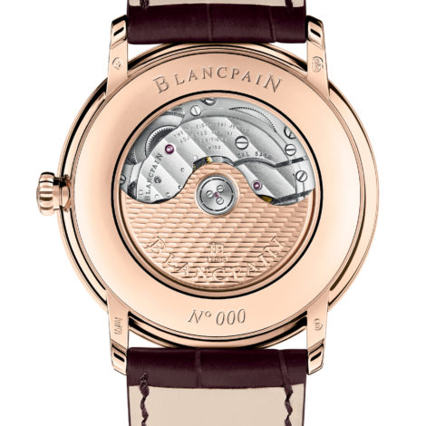 Blancpain Villeret GMT Date Watch Offers Multiple Functions In A Pared-Back Package Fake watches Releases